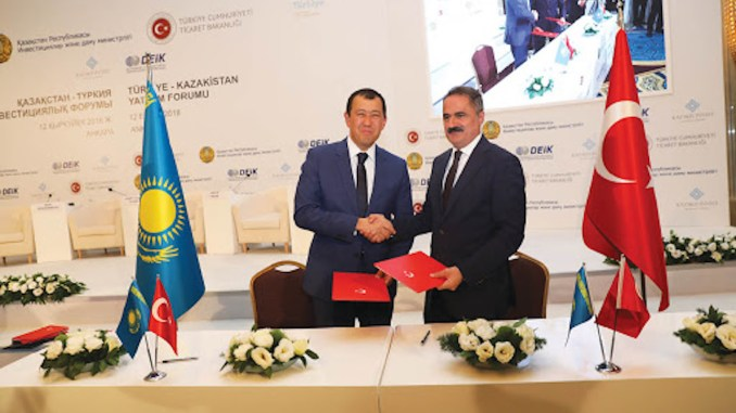 TCDD Transportation Kazakhstan Agreement Signature