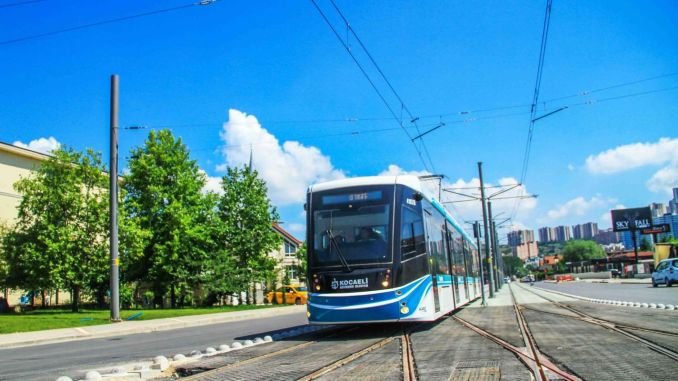 The displacement tender of the transformer in the akcaray tram line has been concluded.
