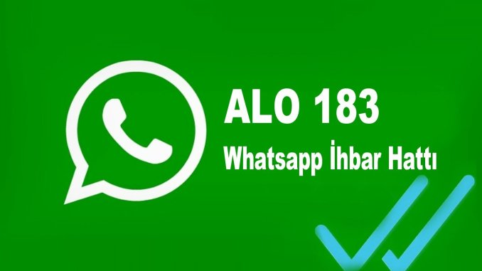 alo whatsapp notification line was offered to the citizens
