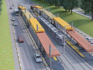 アンタルヤステージ鉄道システムプロジェクトの範囲内で閉鎖される道路
