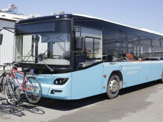 Buses with bicycles carrying bicycles were put into service in Antalya