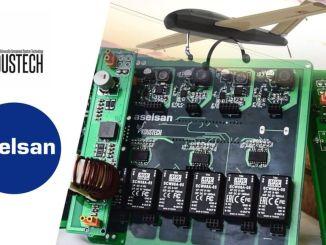 aselsan和koustech為拍賣製作了配電板