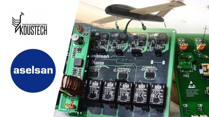 aselsan and koustech produced a power distribution board for auctions