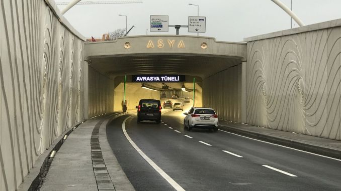 Eurasia Tunnel's 3-årige køretøjsgarantikortgebyr betales om 1 år