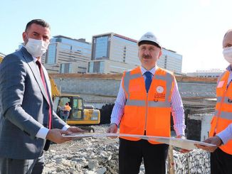 minister investigated the roads of karaakmailoglu basaksehir city hospital