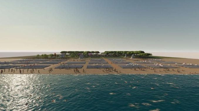 Work in Belek and Kadriye public beaches intensified