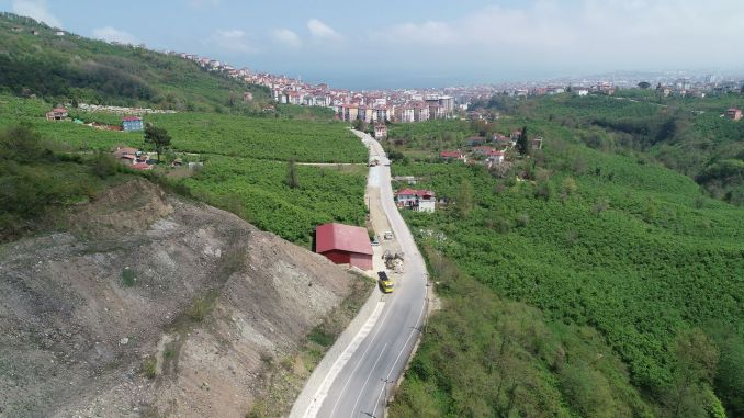 the last bend on the way to boztepe