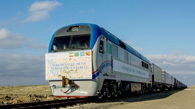 άνοιξε νέα σιδηροδρομική διαδρομή Κίνα Τουρκμενιστάν