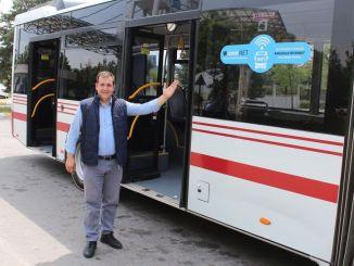 Die kostenlose Internet-Phase begann mit Eshot-Bussen