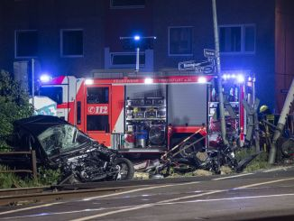 injured in level crossing in frankfurt