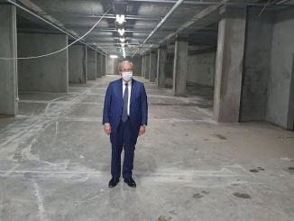 Hayrabolu multiple underground parking will open in October