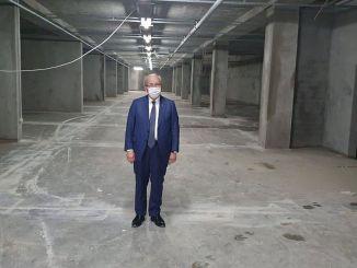 Ο πολλαπλός υπόγειος χώρος στάθμευσης Hayrabolu θα ανοίξει τον Οκτώβριο