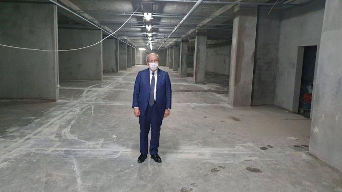 Hayrabolu multiple underground parking will open in October