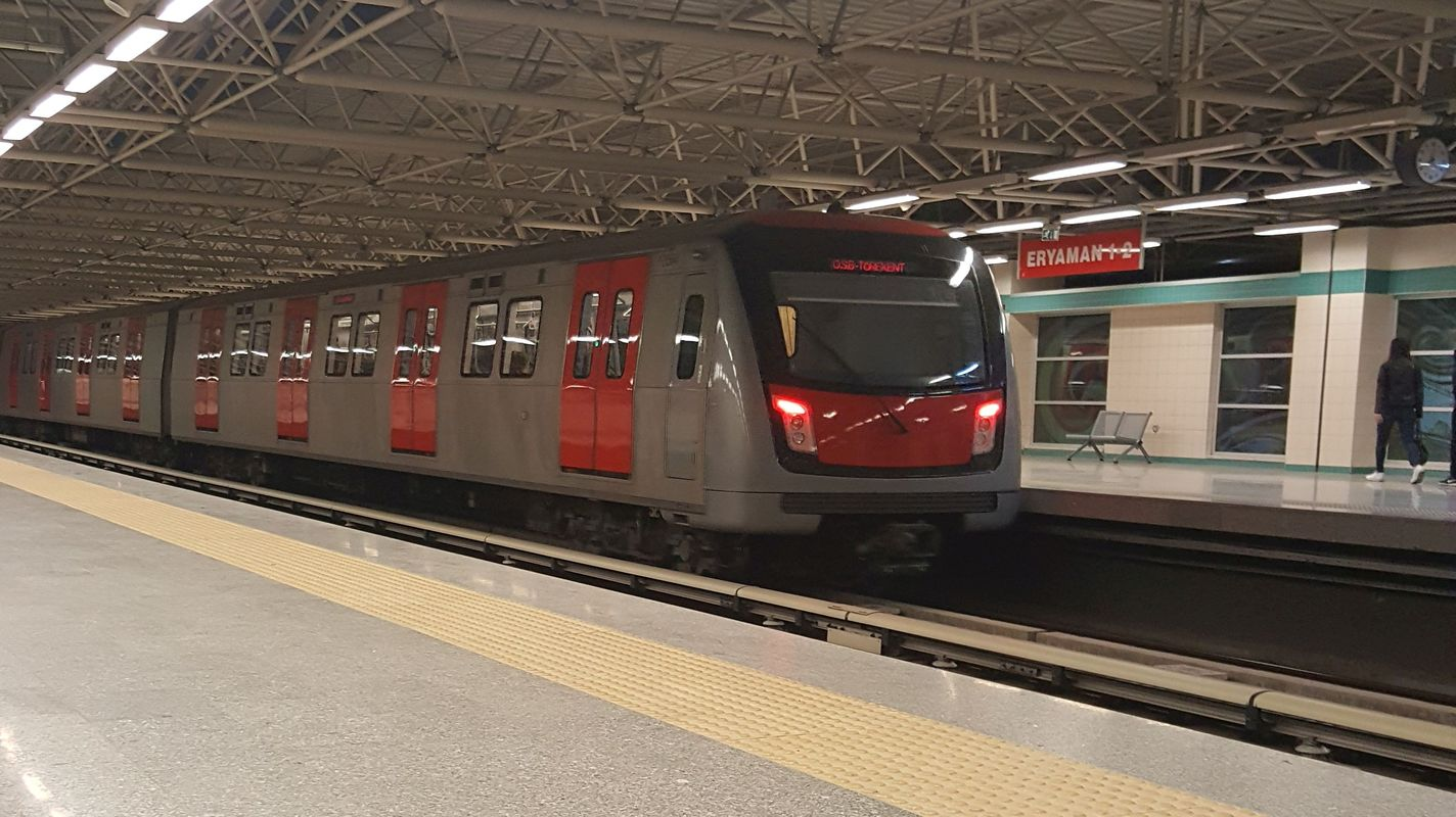 tender advertisement to be used at ankara metro stations
