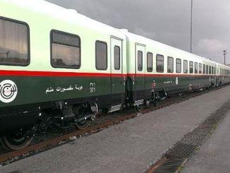vozne vyrábané pre železnice iraq