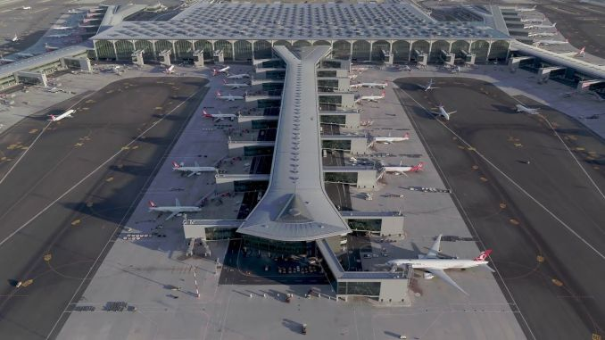 Die vorbeugende vorbeugende regelmäßige Wartung wird am Flughafen Istanbul fortgesetzt