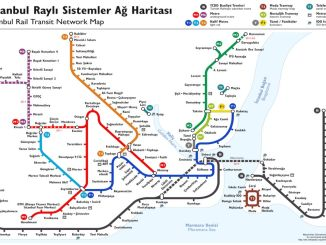 istanbul metro map and stops