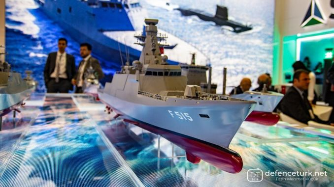 the first of the stacker class frigates, tcg will land at the end of istanbul