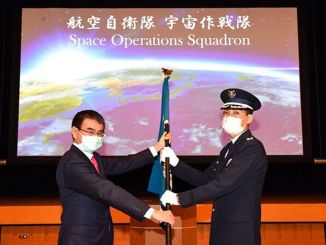 Japan air space defense fleet established fleet of space operations