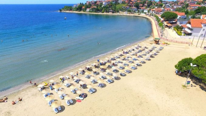 The blue flag will fly this year on the beaches of Kocael
