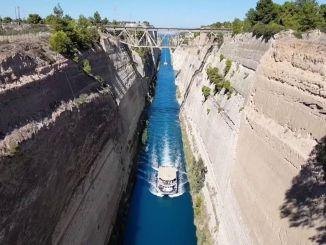 Фаворит туристичних агентств Коринтського каналу