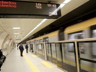 m uskudar umraniye cekmekoy metro hatti