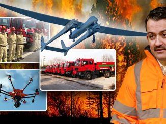 Licitația va fi folosită pentru prima dată în acest an în detectarea incendiilor forestiere
