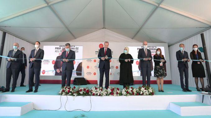 άνοιξε νοσοκομείο έκτακτης ανάγκης sancaktepe prof dr feriha oz