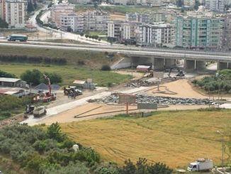 нове облаштування до перехрестя в районі особняка доріг Тарс Камляйла