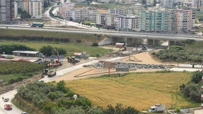 new arrangement to the intersection in tarsus camliyayla road mansion area