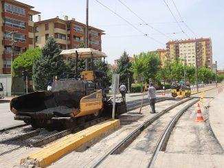 Raitiovaunupisteiden asfalttityöt on saatu päätökseen