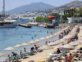 Während des Anstiegs der weltweiten Tourismuseinnahmen in der Türkei