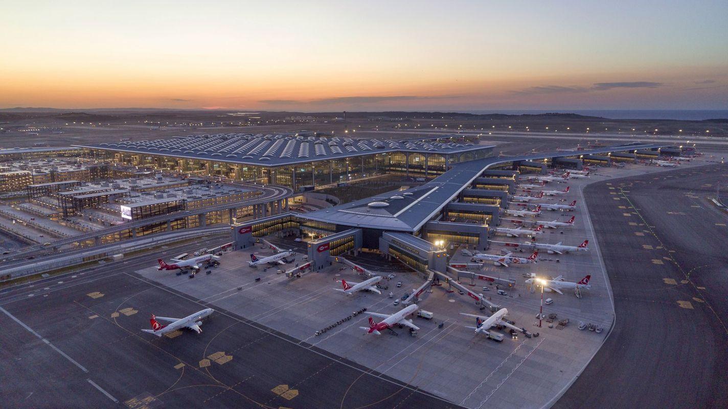 Der Truthahn des Flughafens erhält als erster das Covidien-Zertifikat