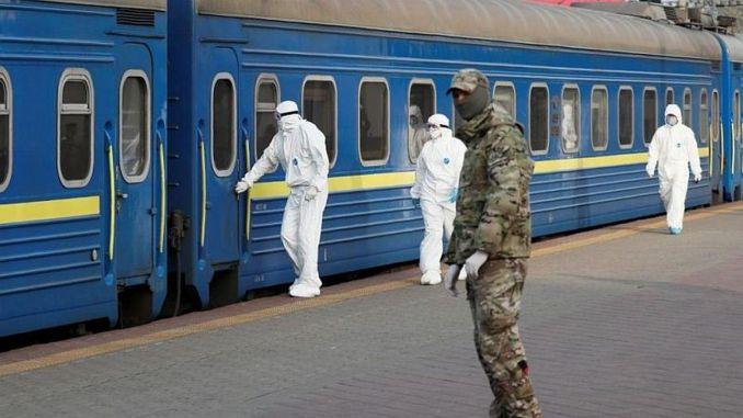 Wasaaradda kaabayaasha ee Ukraine waxay la wadaagtaa bilowga taraafikada rakaabka