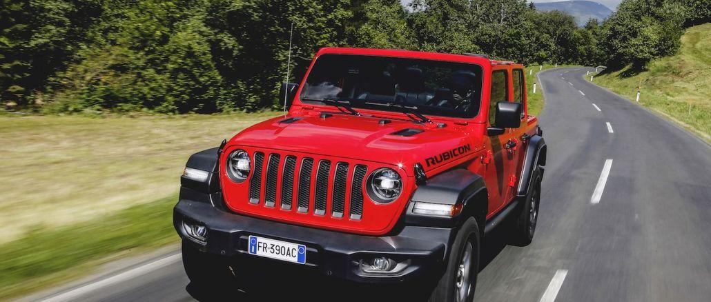 yeni jeep wrangler rubicon turkiyede