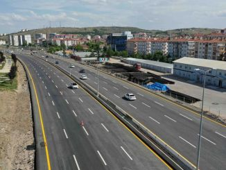 yenikent ayas road completed in the day opened to traffic