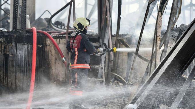 Ankara Buyuksehir kommun för att bygga brandmän