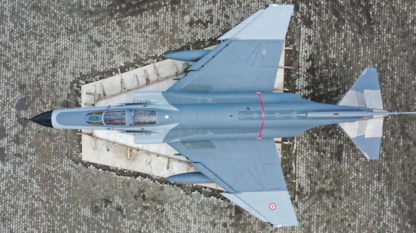 Rizeye F Fantom Savaş Uçağı Kondu
