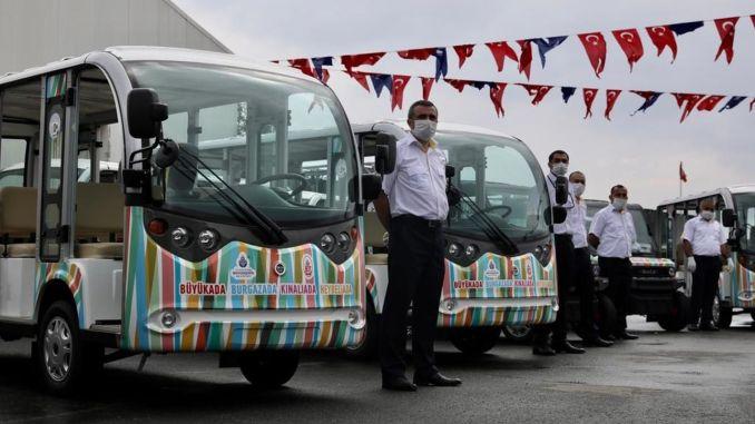 электромобили для решения проблемы фаэтона на островах