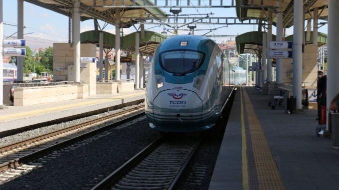 Ankara Konya Hochgeschwindigkeitszugfahrplan