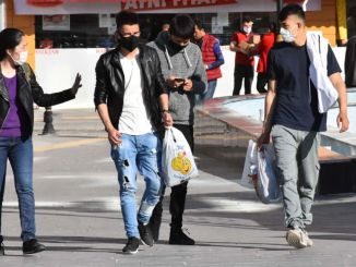 it is mandatory to wear a mask in an open area in Ankara and Bursa