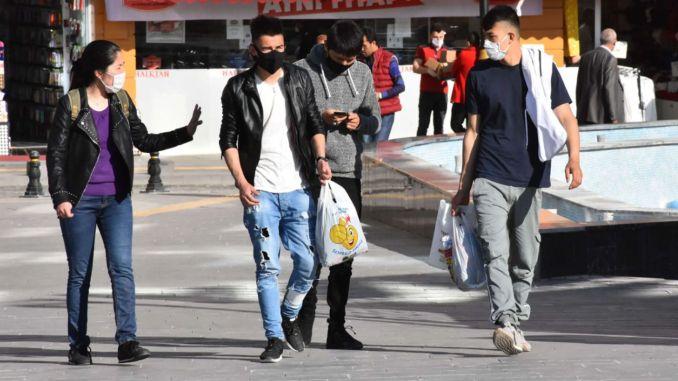 είναι υποχρεωτικό να φοράτε μάσκα σε ανοιχτό χώρο στην Άγκυρα και την Προύσα