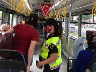 Strict control in public transport in Antalya
