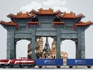 Kina lancerer logistikken bag kalkunjernsilkevejstjenesten
