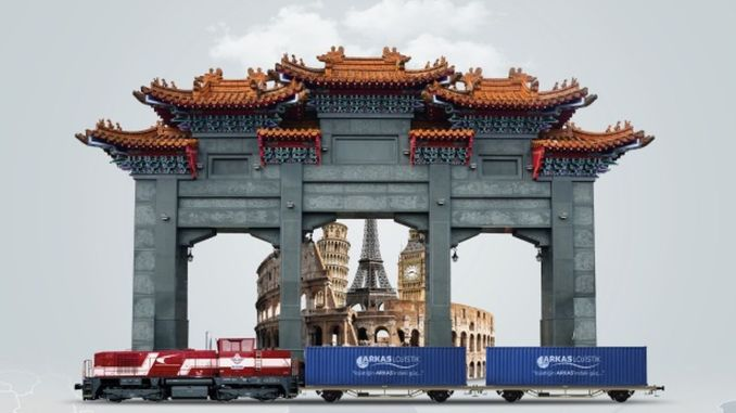 China launches the logistics behind the turkey iron silk road service
