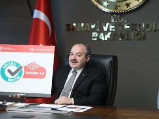 minister introduces varank covid secure production certificate logo