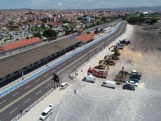 Balikesir station åbnes for offentlig service