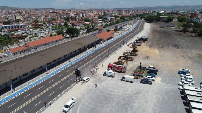Balikesir bus station opened to public service