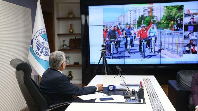President Buyukkilic at the European Mobility Week Launch Meeting