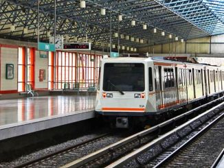 수도에서 봉제 스테이션 나토 요루 지하철의 첫 번째 입찰